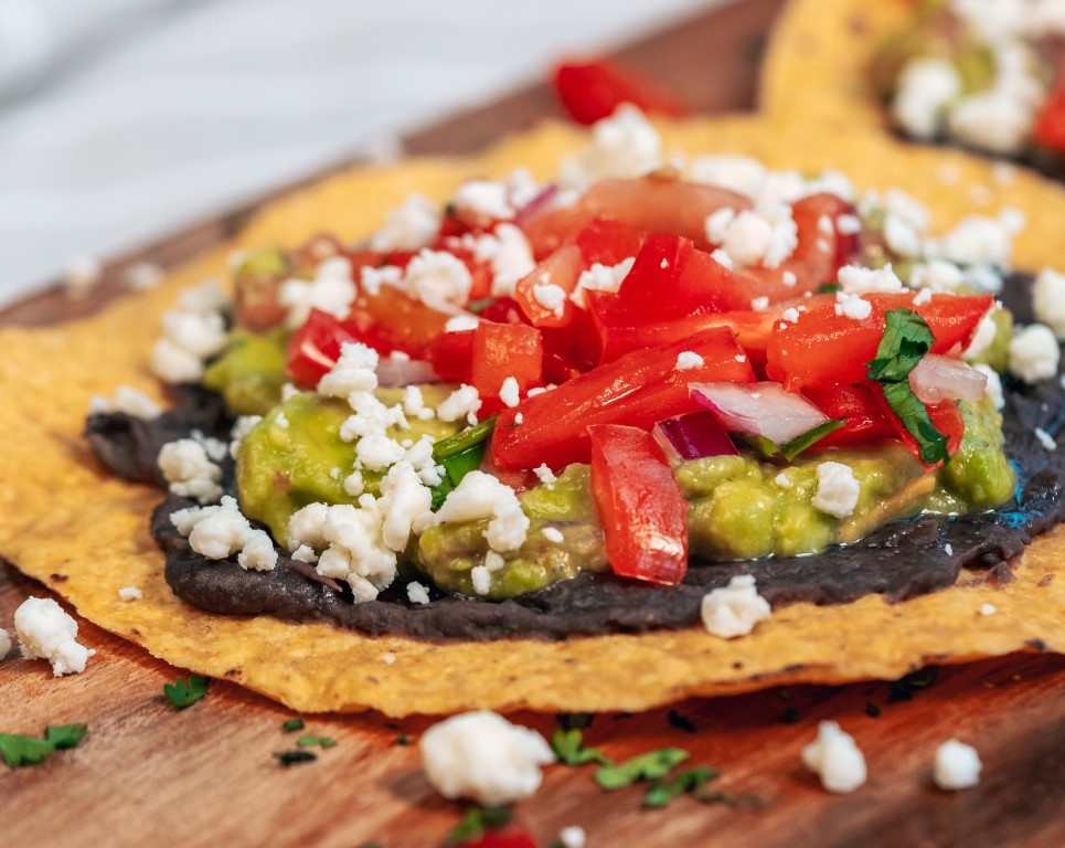 LIME Fresh Mexican Grill tostada appetizer